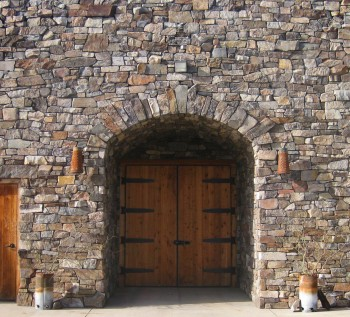 Cave entrance at the Hackett Ranch